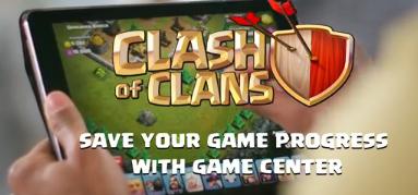 как сохранить деревню в game center ios