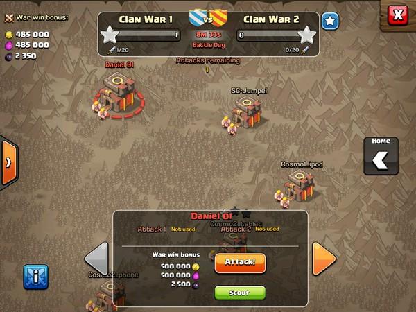 война кланов clash of clans