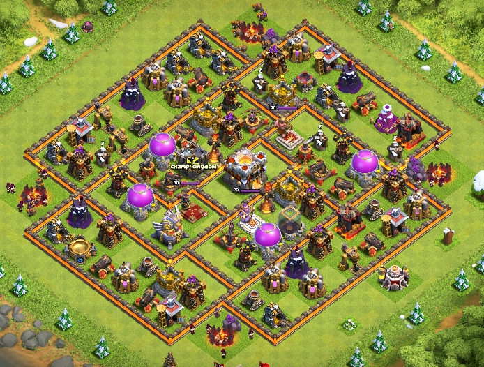 clash of clans 11 ратуша