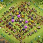 clash of clans 11 ратуша расстановка для защиты