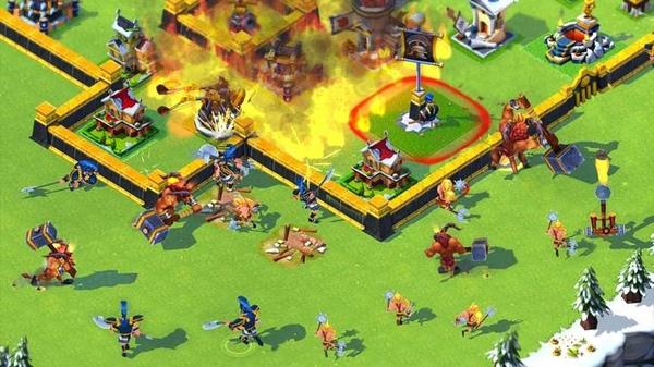 стратегии похожие на clash of clans