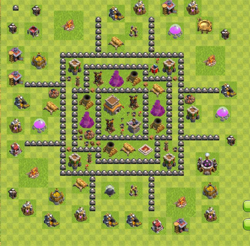 лучшие базы тх 8 clash of clans