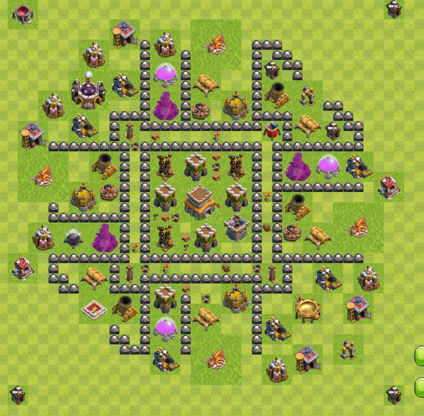база 8 тх clash of clans