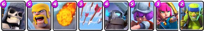 clash royale колоды для 3 арены