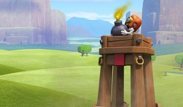 НОВИНКА: Башня-бомбежка (доступна, начиная с 8-го уровня ратуши) Если башню-бомбежку уничтожить — она взрывается, отбрасывая приближающихся наземных воинов взрывной волной небольшого радиуса. Башня-бомбежка открывает новые интересные варианты для балансировки массированных […]
