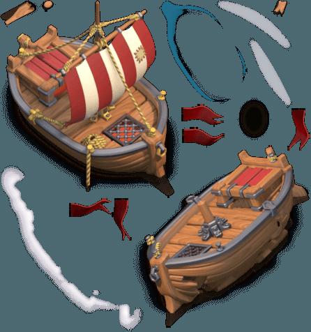 Корабль в Clash of Clans
