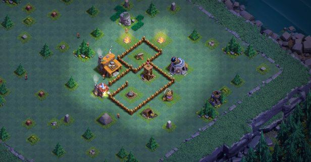 clash of clans деревня строителя 2 дом