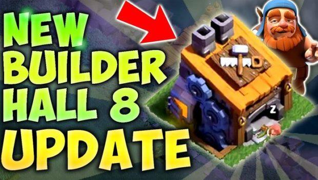 Стали известны подробности будущего уровня дома строителей 8-го уровня. Станет очень много изменений, о которых читайте ниже. Вся защита может перейти на уровень 8 Ловушки-шпионы могут перейти на уровень 4 […]