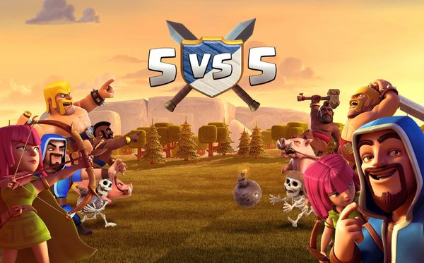 Война кланов 5 на 5 в Clash of Clans
