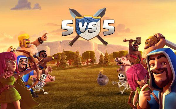 Война кланов 5 на 5 в Clash of Clans