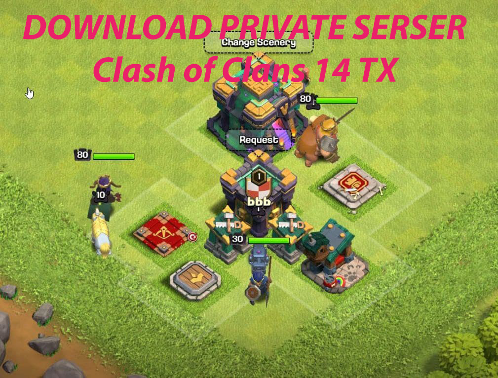 Приватный сервер CLASH OF CLANS - Null's Clash 14.0.6!